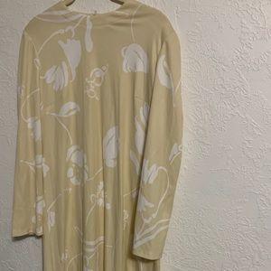 Vintage mod floral dress handmade